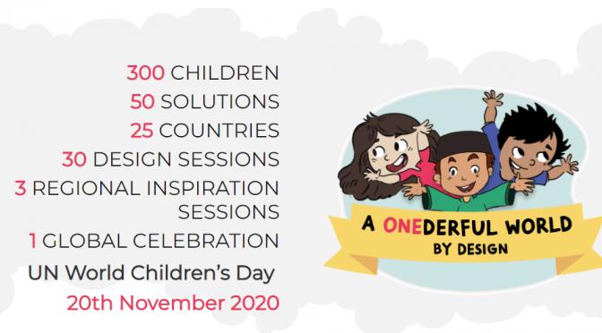 Design for Change – глобално празненство за деца, които променят средата и общността си към добро